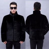2016 Man Winter Coat Imitation Mink Fur Casual Fake Fur Men S Clothing