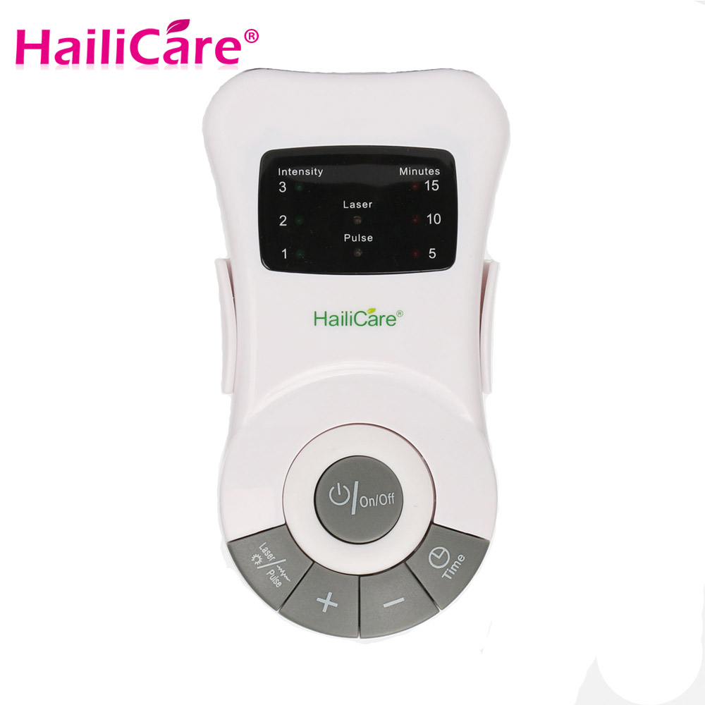 Hailicare Allergi Reliever Lavfrekvent Laser Allergisk Rhinitt Behandling Anti-Snore Apparat Therapy Health Care Massager