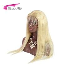 Карина волосы бразильский Реми Человеческие волосы 150% плотности чистого 613 блондинка Синтетические волосы на кружеве Искусственные парики с ребенком волос отбеленные узлы Бесплатный Часть