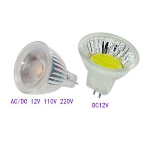 MR11 COB Led Spotlight 12V 110
