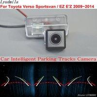 Lyudmila Car Intelligent Parking Tracks Camera FOR Toyota Verso Sportsvan / EZ E'Z 2009~2014 Back up Reverse Rear View Camera