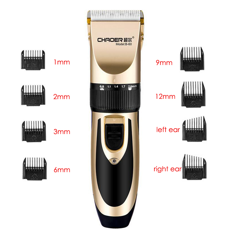 haircut machine for men professional clipper hair trimmer for electric cutter 5456 | Professional Clipper Hair Trimmer For Men Electric Cutter Hair Cutting Machine Haircut For Barber Ceramic Blade