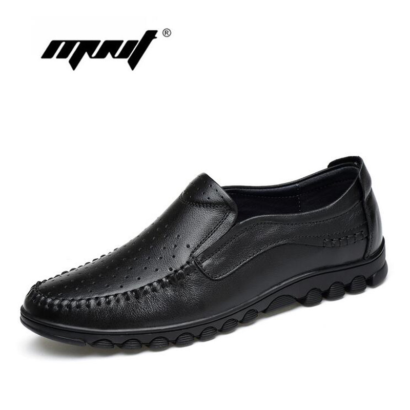 Hot Sale Fashion Genuine Leather Men's Casual Shoes Light Breathable Shoes Men Slip-On Walking Driving Comfortable Shoes branded men s penny loafes casual men s full grain leather emboss crocodile boat shoes slip on breathable moccasin driving shoes