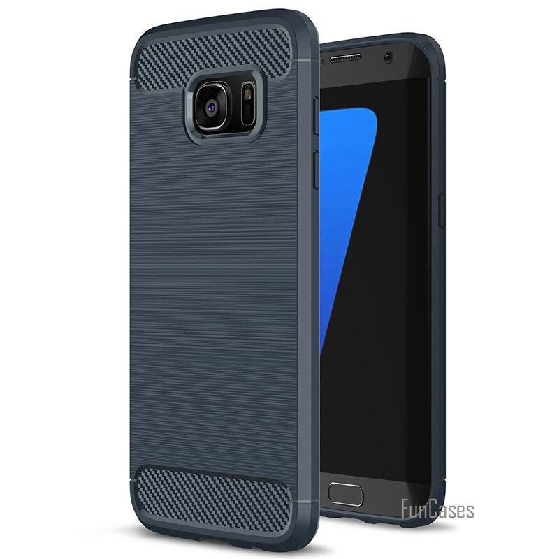 Silicon Case For Samsung Galaxy A3 A320 A5 A520 A7 A720 2017 Luxury Hybrid TPU Armor Case For Samsung Galaxy S7 S7 Edge Cover