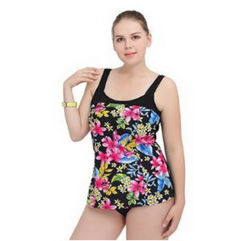Plus Size Women Swimwear 2018 New High Quality Sexy Summer Bathing Suit One Piece Swimsuit Swim Wear Bikini Size XL~5XL one piece swimsuit cheap sexy bathing suits may beach girls plus size swimwear 2017 new korean shiny lace halter badpakken