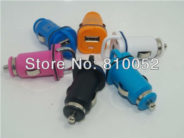 Mini USB Car Charger Adapter Universal for iPhone 4 4S 3G 3GS ipod mobile phone mp4 mp3 PDA Tablet PC