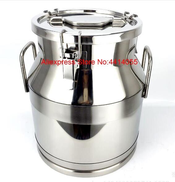 304 baril de vin scellé en acier inoxydable huile tambour/réservoir de stockage d'huile/acier inoxydable scellé grain soupe baril/stockage riz bar - 3