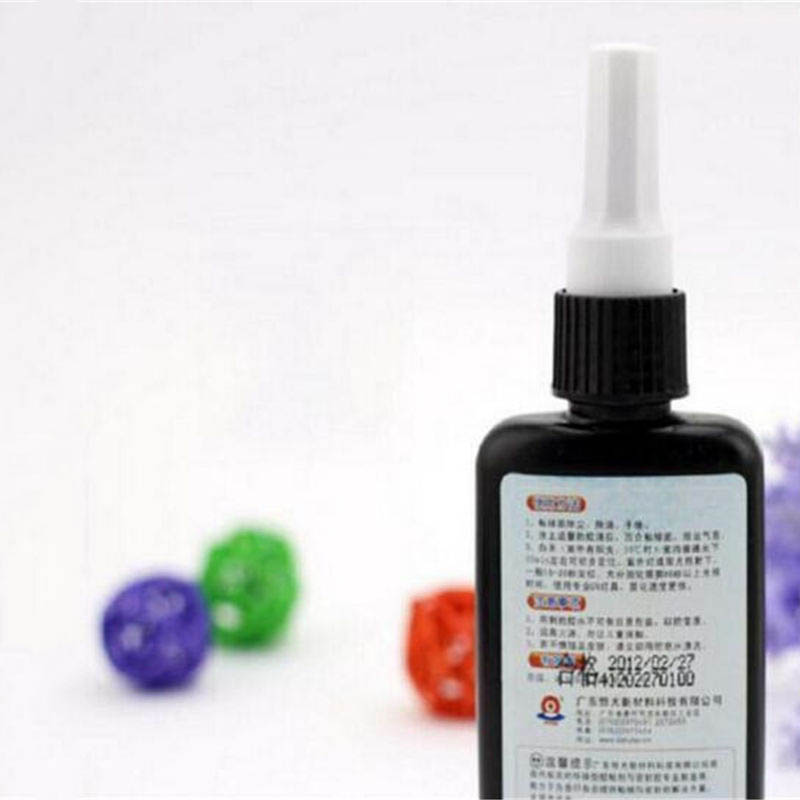 Newest 50ML K-300 UV Glue Curing Adhesive Transparent Crystal Glass Bonding Dedicated Repair Liquid Glue -- kafuter 50ml uv glue uv curing adhesive k 300 transparent crystal and glass adhesive