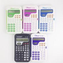 Candy Color Office Mini Scientific Calculator School Student Function Calculadora Multifunctional Clock Calculator Cientifica