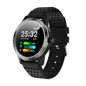 Image 2 - SmartWatch IP68 wodoodporny ciśnienie krwi pulsometr sportowy przypomnieć Bluetooth inteligentny zegarek sportowy dla android ios