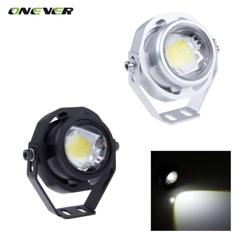 Super Bright Car LED Fog Reverse Light Newest LED Eagle Eye White Light Daytime Running Tail Backup Light Car Motor