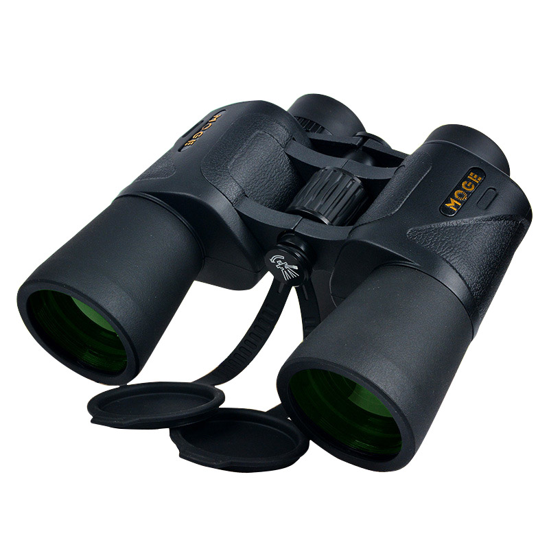 Original Binocular 10x50 High Power HD MC Green film Bak4 Prism Telescope Outdoor Hunting Spotting Scope Navigation original binoculars 10x42 high power hd optical lenses mc green film military telescope for hunting outdoor spotting scope