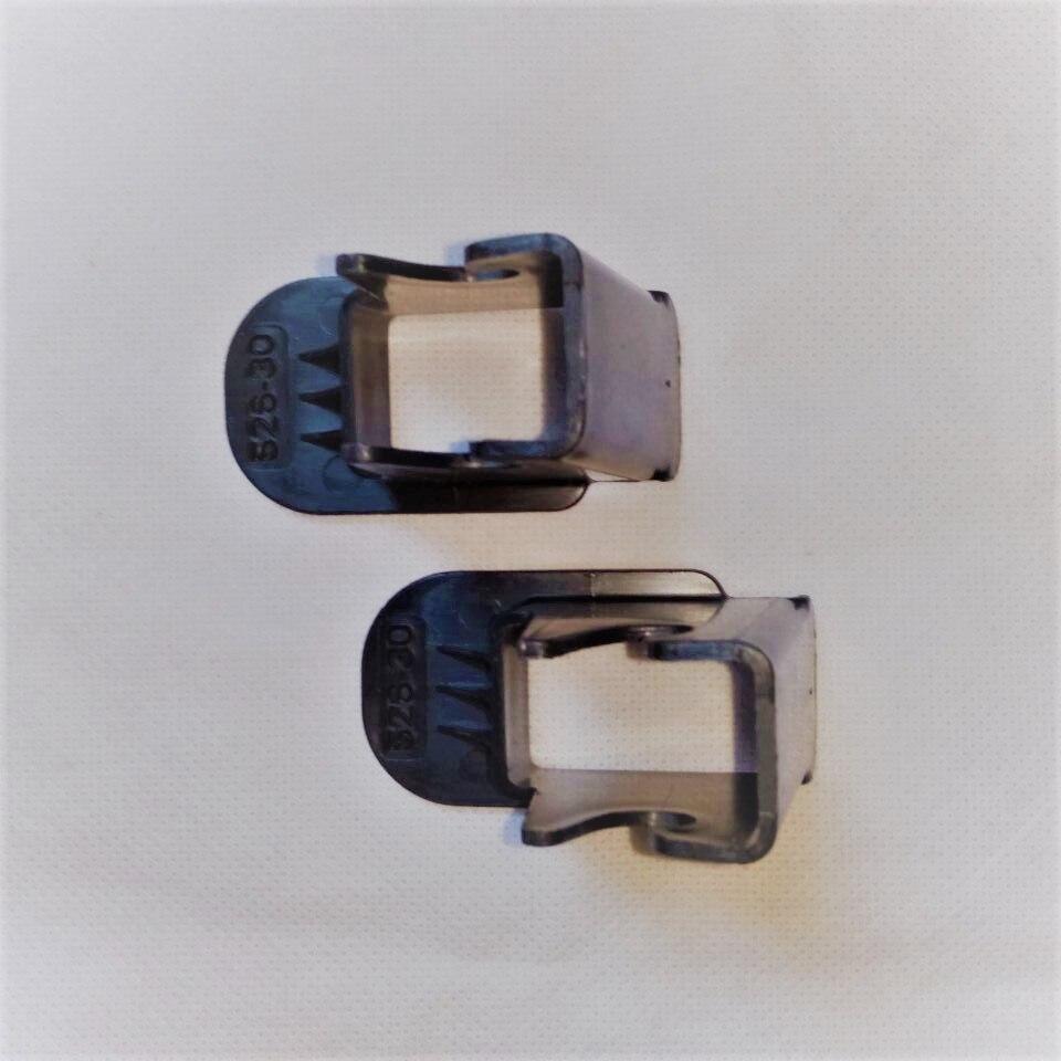 2 piezas de guía de cierre negro! Asientos de seguridad para niños - Accesorios de interior de coche - foto 2