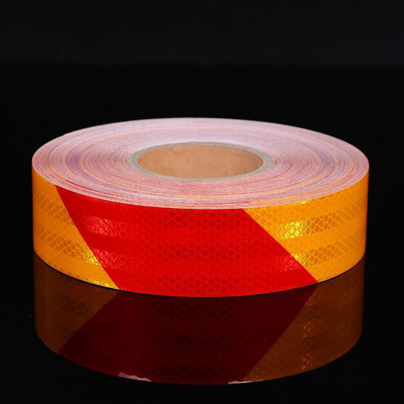 50mm X 10m Reflective Bicycle Stickers Adhesive Tape For Bike Safety Reflective Bike Stickers