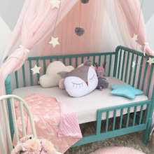 The New Childrens Crown Champion Baby Bed Curtain Nets Three Door Dream Shoot