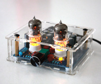 P5 1 6J1 tube amp pre amp Tube preamplifier tube buffer With power supply for Home Audio Video