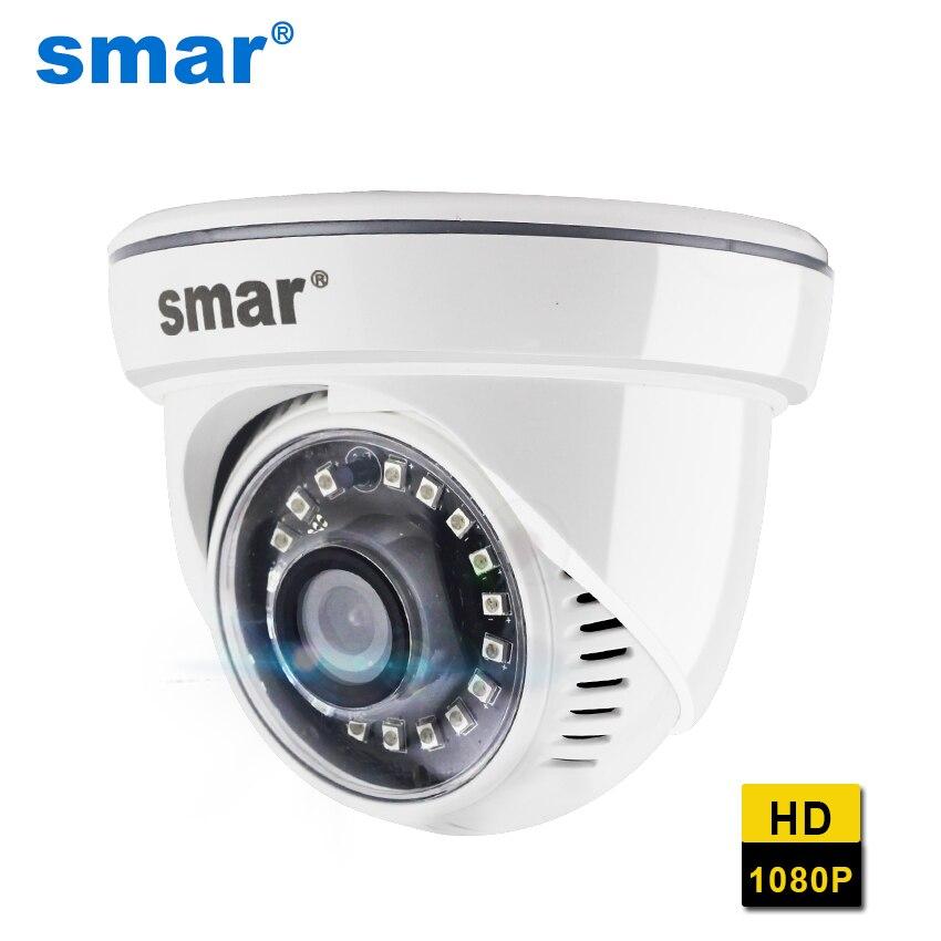 Smar completo hd h.265 2mp câmera ip hi3516 20fps casa câmera de vigilância de rede 1080 p onvif câmera de segurança com nano ir led