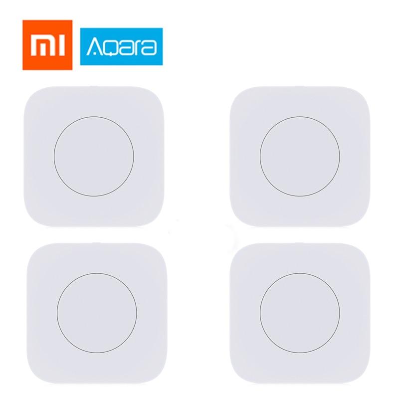 Original Xiaomi Aqara Smart Wireless Switch Key Intelligent interrupteur Remote Control ZigBee wifi Switch home kits