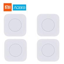 Оригинальный Xiao mi Aqara умный беспроводной переключатель ключа умный прерыватель дистанционного управления ZigBee wifi переключатель домашние комплекты mi home