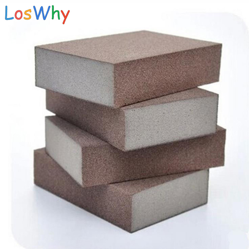 10 pcs/lot 10*7*2.5CM High Quality Carborundum Magic Sponge Brush Kitchen Home Washing Cleaning Cleaner Tool