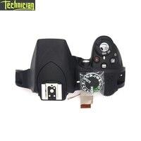 Tüketici Elektroniği'ten Gövde Parçaları'de D3300 üst kapak flaş ve düğmeler kamera onarım parçaları için Nikon