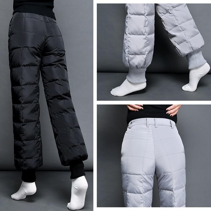 Nouveau Épais Pantalon Tenue Sarouel Grande De 2018 Hiver En Du Outillage Mince Jvzkass Taille Bas Black Haute Femme Z239 FSgREwBq