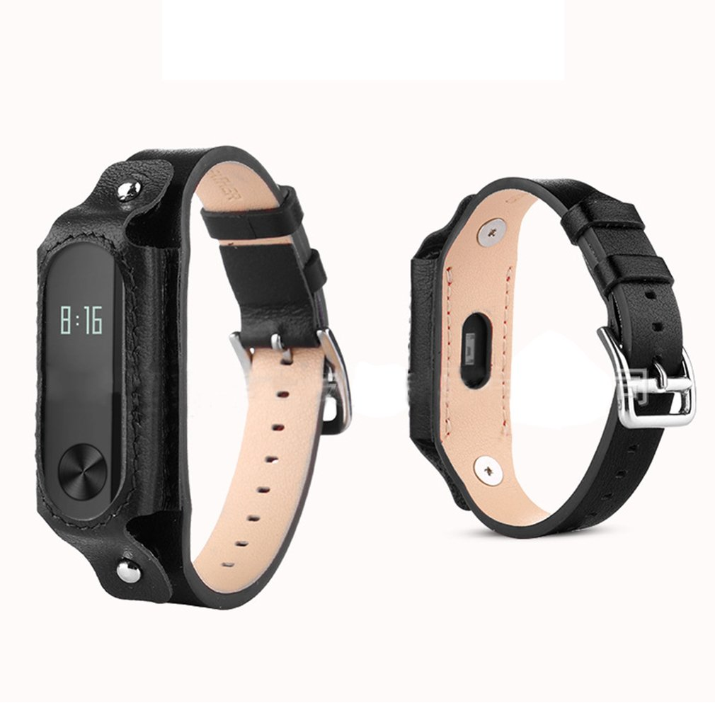 Professional Bracelet Replacement Leather Watch Strap For Xiaomi Mi Band 3 Strap Bracelet Wristband Straps Multicolor replacement original sports leather wristband band strap metal case cover for xiaomi mi band 3 bracelet accessories 10jul 13