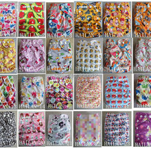 Новая ткань с принтом, детские подгузники, 100 шт, многоразовые, водонепроницаемый подгузник, один карман, подгузники