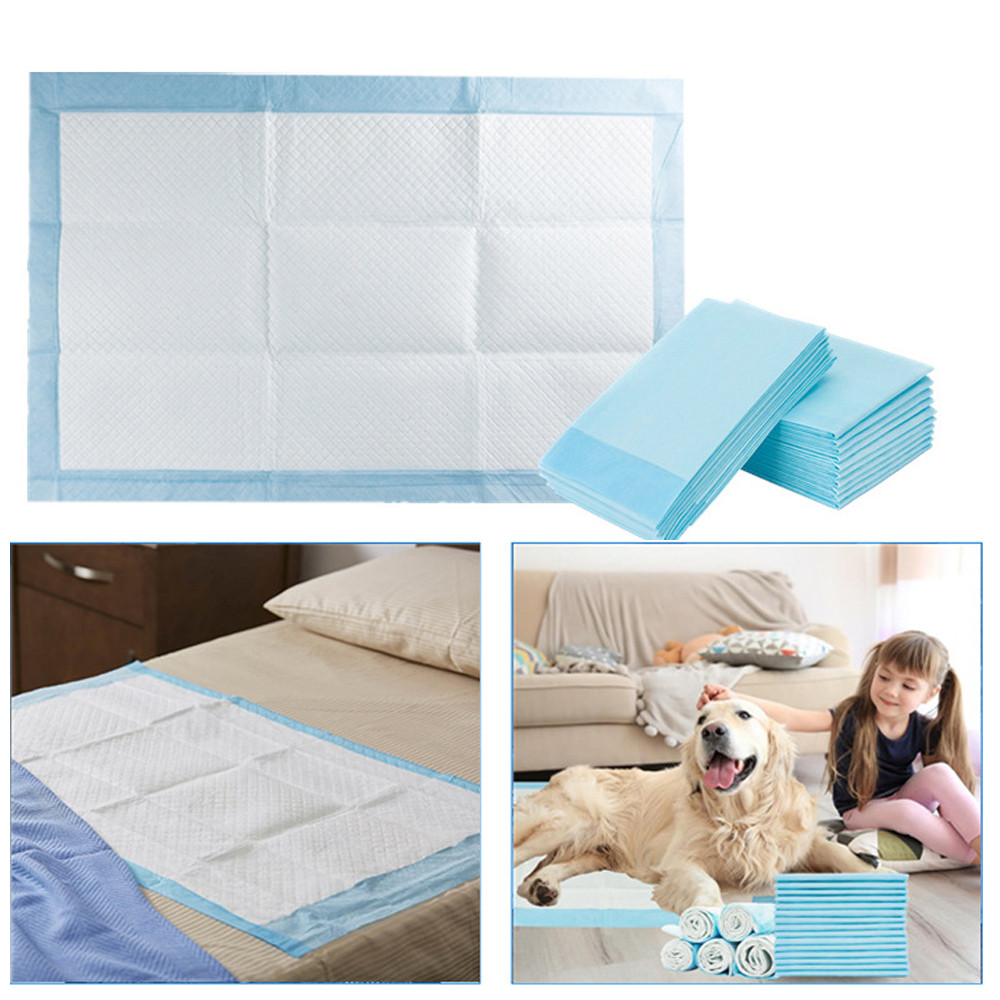 5/10/20Pcs/Set Pet Cat Dog Bed Diapers Absorbent Mat Indoor Toilet Training Pad Cushion For Small Large Pets Dropship Ju1 image