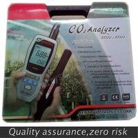Караульная ST303 ручной углекислого газа CO2 монитор Крытый монитор качества воздуха Измеритель влажности + Температура метр + CO2 тестер 3in1