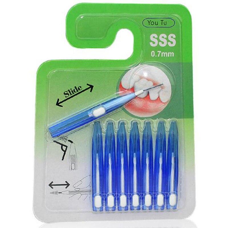 Новинка 2019, 8 шт./компл., межзубная щетка, зубная щётка, зубная щетка, зуб, зубная нить, для гигиены полости рта, новейшая Чистка между зубами, высокое качество|Межзубная щетка|   | АлиЭкспресс