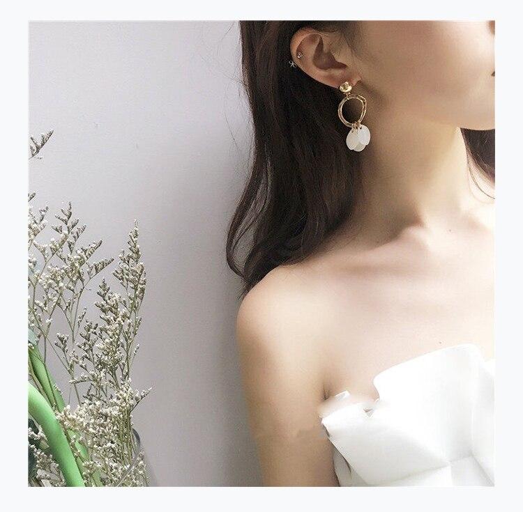 Orecchini raffinati gioielli Bohemia temperamento elegante - Bigiotteria - Fotografia 4
