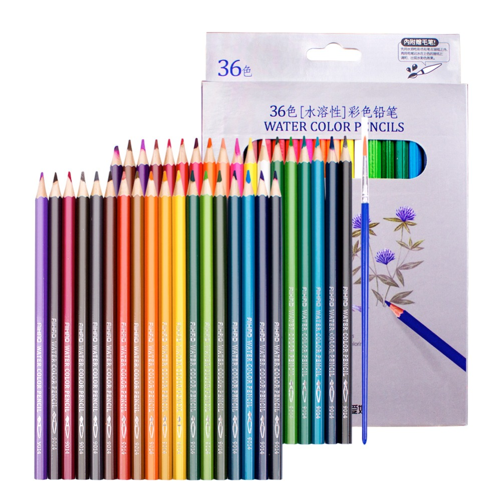 Marco Fine Art 48//72 Colors Drawing Oil Base Non-toxic Pencils for Artist Sketch