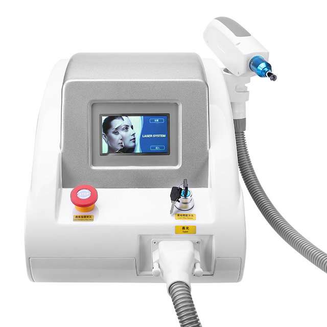 2019 Hot 1064nm 532nm 1320nm Nd Yag Laser Tattoo Removal Eyebrow Pigment Removal Machine by Ali Express