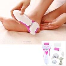 Pedicure Ped Pod Egg File Foot Care tool Dry Hard Skin Remover Kit Set