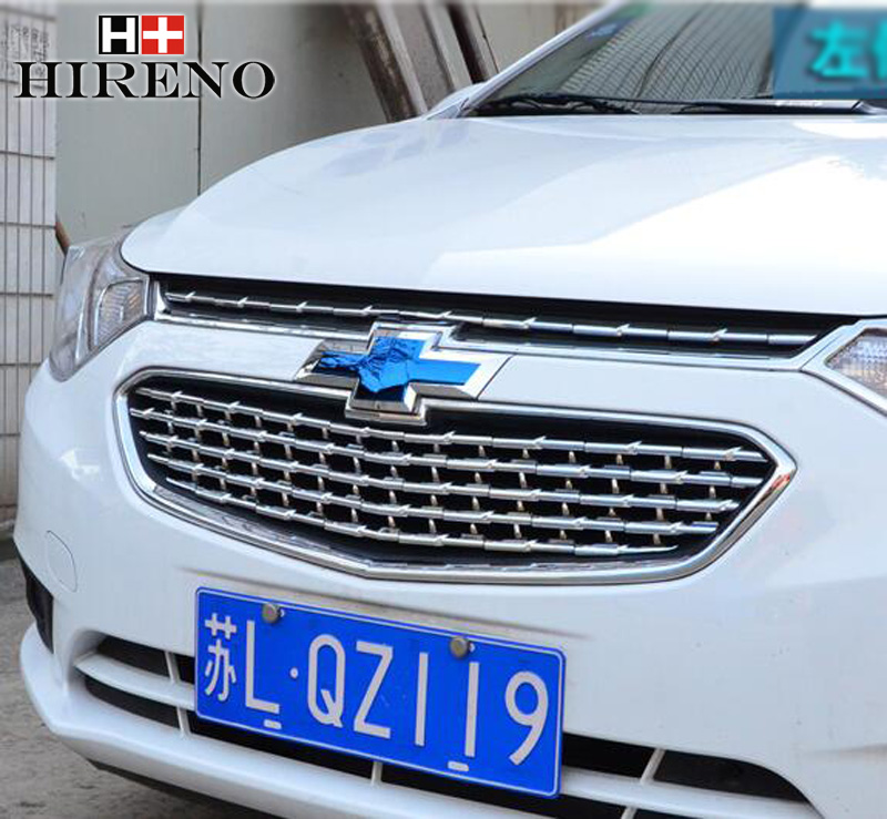 Stainless Steel Car Racing Grills For Chevrolet sail 2010-2016 Front Grill Grille Cover Trim Car styling