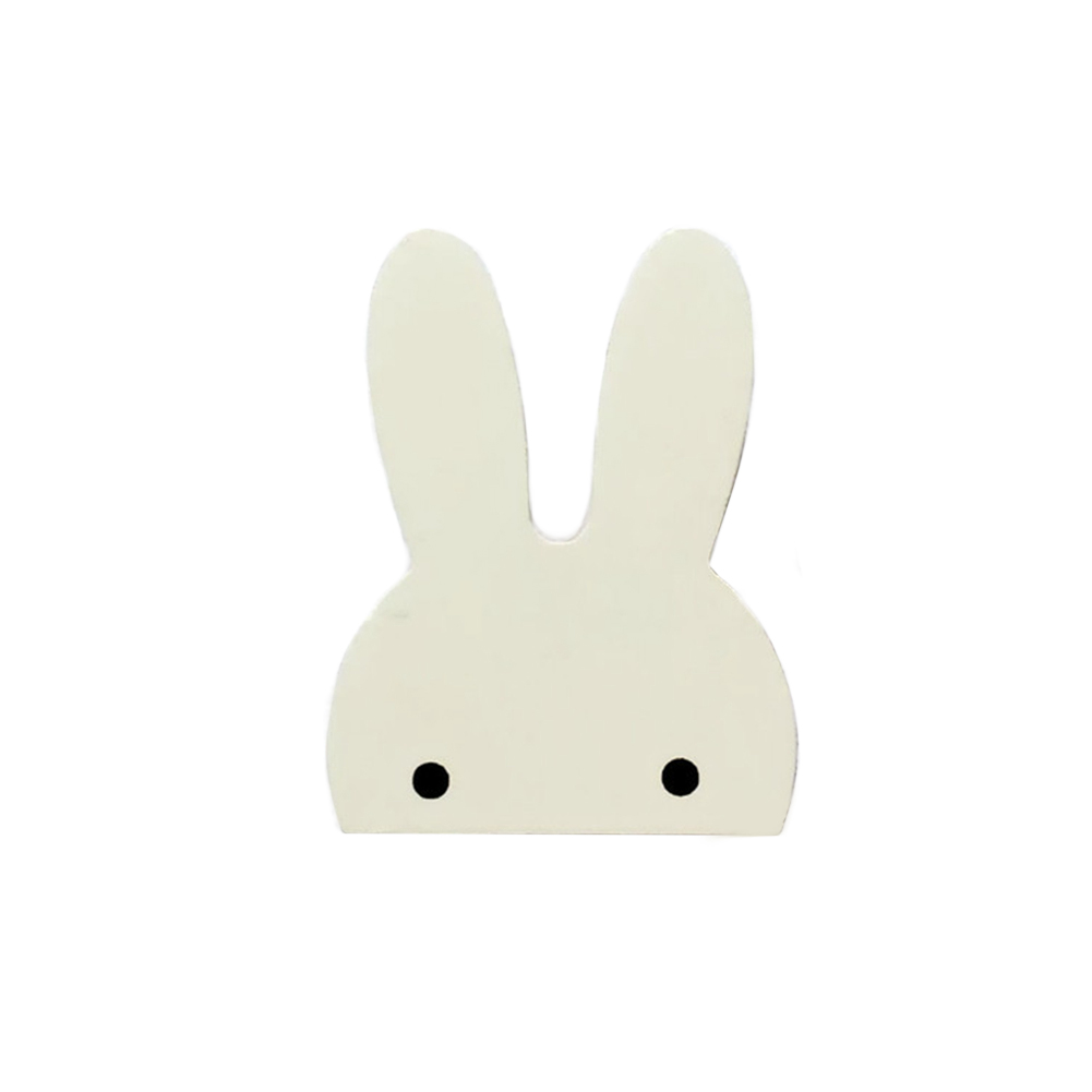 Wall Mounted Hat Children Room Hanger Cute Wooden Hook Nordic Style Accessories Home Stickers Clothes Rabbit Decor DIY