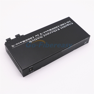 Image 4 - Gigabit Fiber Ethernet Switch 8 Port TX to 2 Port FX 10/100/1000Mbps SMF DX Fiber Converter Wavelength 1310nm 20km SC Connector