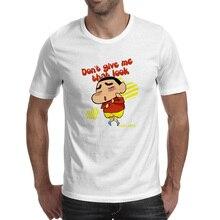 Do Not Give Crayon Shin Chan That Look T-shirt Anime Skate Punk Pop T Shirt Print Rock Creative Women Men Top