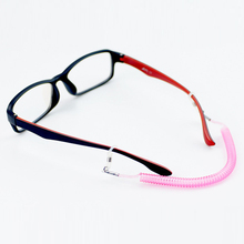 3c5269defe Cadena elástica de goma gafas de sol cadenas niños gafas de lectura cordón  soporte cuello Correa