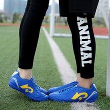 2017 New Original Brand Profession Soccer Shoes TF Hard Court Wearable Adult Men Kids Football Training Boots Flat Indoor Futbol