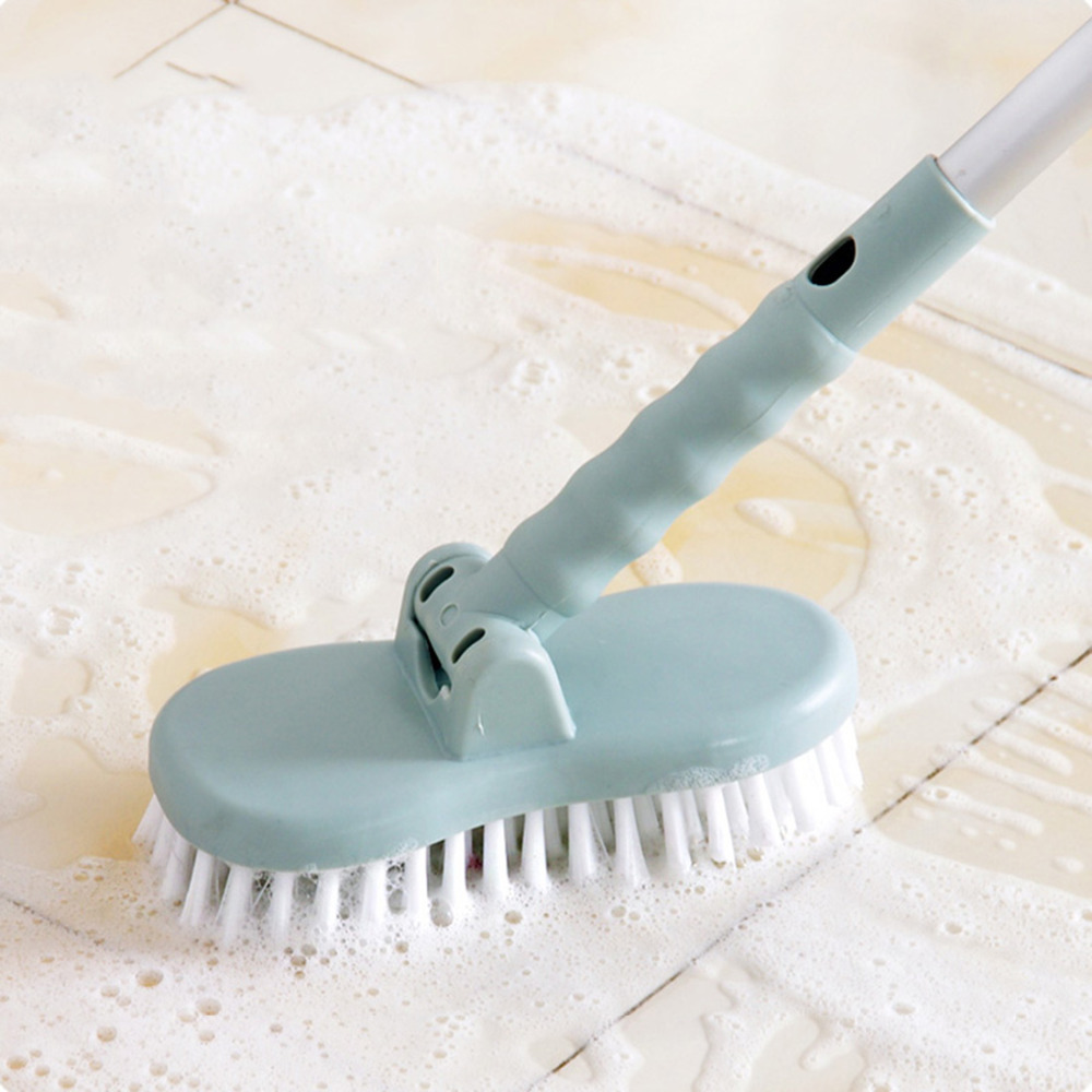 Cleaning Brush Removable Brush Head Long/Short Handle Kitchen Window Groove Tiles Floor Household Cleaning Tools for Home