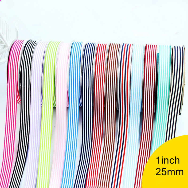 dc8b5e9815c24 Detail Feedback Questions about 1inch x 10m Colorful Stripe Silk ...