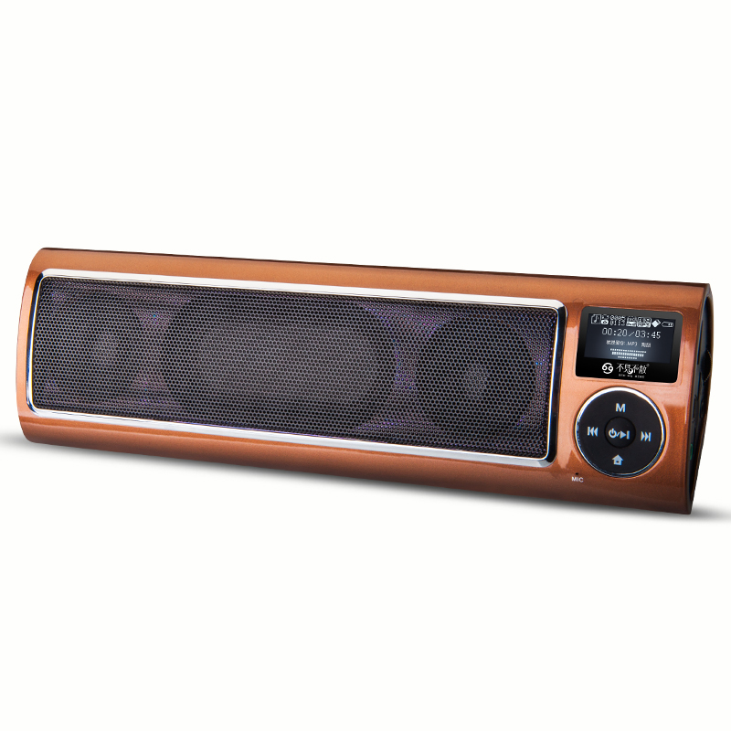 LV520-iii Radio Portable speaker MP3 Player Special for Olders with Loud and High Quality Sound Support USB Disk and TF Card mymei best price new portable 3 5mm pillow speaker for mp3 mp4 cd ipod phone white