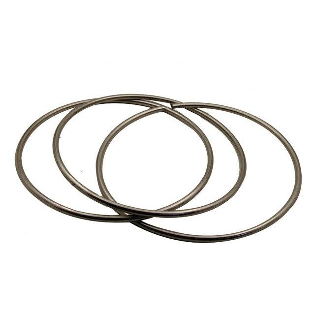 Wholesale Chinese Linking Rings Professional Big Hollow Three Link Rings Magic Tricks  Magic Props