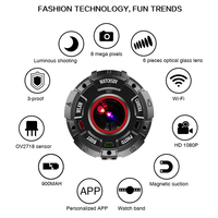 Action Camera Full HD 1080P 30 meter Waterproof 8MP Sports Video Cam Wide angle Lenses with Watch Band support micro sd card