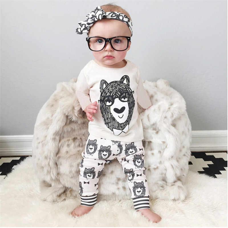 7f0b70e53 2017 Baby Girl Clothes Autumn Baby Boys Clothing Sets Spring Newborn Baby  Clothes Long Sleeve Roupas