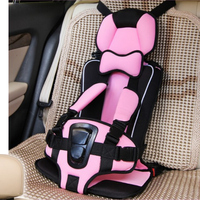 Adjustable Easy Clean Quick Dry Portable Baby Safety Car Seat For 9 Months 12 Years Old
