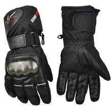 Winter Motorcycle Gloves Waterproof Warm Motocross Racing Motos Motorbike Cycling Glove Guantes luvas Windproof Gloves For Men недорого