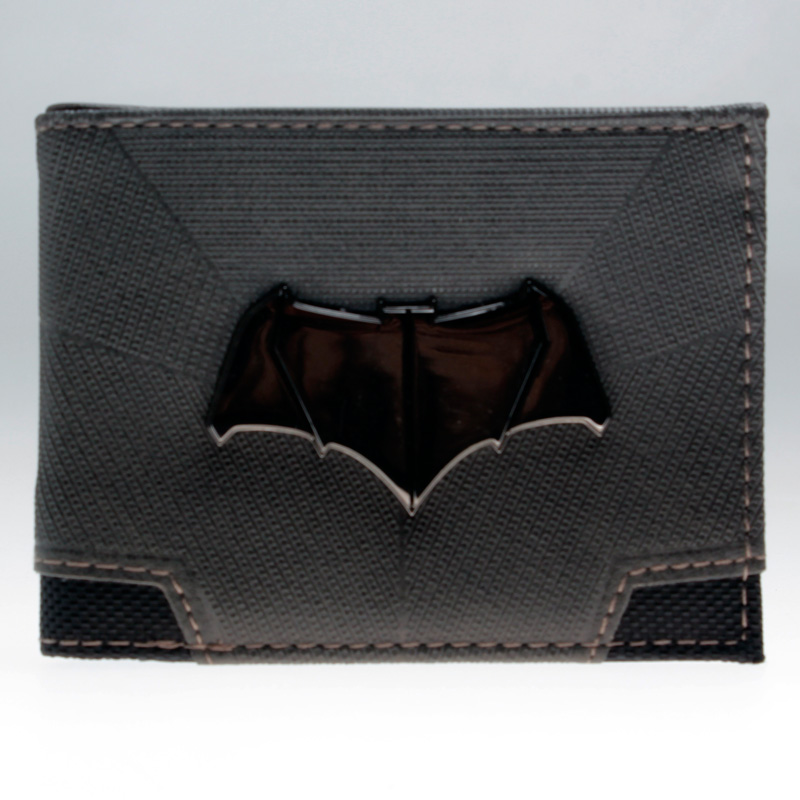 DC Comics Batman V Superman: Dawn of Justice Suit Up Bifold Boxed Wallet DFT-1820 mens batman logo badge bifold wallet dft 1327